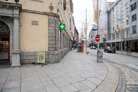 Lite rumenske tiggere i sentrum etter NRK dokumentaren Lykkeland