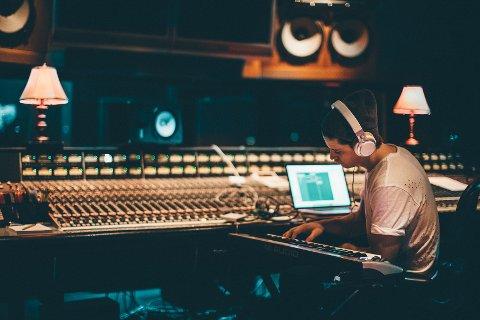 Kygo i studio i LA.