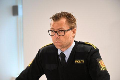 Politiadvokat Ørjan Ogne på pressekonferansen.