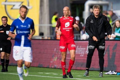 Ruben Kristiansen og Brann leverte meget lite imponerende kamp borte mot Sarpsborg.