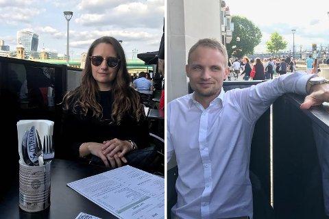 Linn Ellingsen og Petter Jordan forteller om den dramatiske opplevelsen.