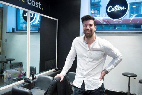Økonomen Kristian Hauge Solheim etablerte Cutters AS i Bergen sammen med frisør Natalie A. Werkland og økonomen Andreas Kamøy på tampen av 2015.