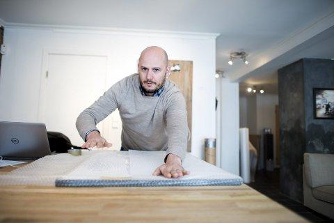 Frustrert: Christer Holm er misfornøyd med erstatningen han er tilbudt fra Bring.