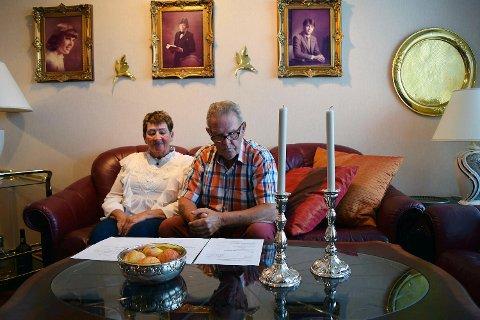 Reidun og Kristian Johnsen (77)  ble lurt av en spørreundersøkelse på internett. Nå vil de advare andre.