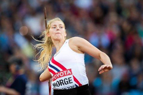 Sigrid Borge var sjanseløs på å nå en VM-finale i spyd. (Foto: Heiko Junge / NTB scanpix)