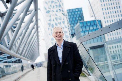 Rektor Øystein Thøgersen ved NHH har som ambisjon å klatre på Financial Times-listen. FOTO: SIV DOLMEN, NHH