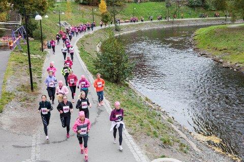 Her fra Rosa Sløyfe-løpet i Oslo i fjor.