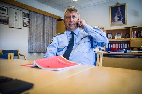 Lensmann Kjell Idar Vangberg frykter den gode oppklaringsprosenten til politiet i Nordhordland vil gå ned.