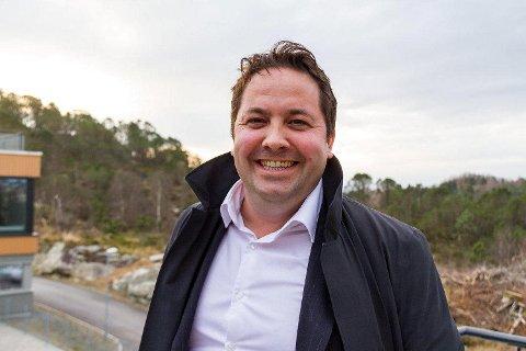 Administrerende direktør Oddbjørn Haukøy i PSW Group ser tilbake på et godt 2017 og jakter nye ansatte. FOTO: ELINE KIRKEBØ, AVISA NORDHORDLAND