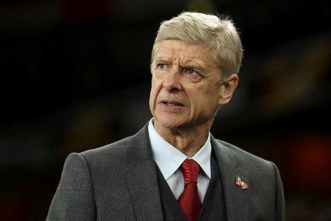Arsene Wenger har styrt Arsenal fra benken siden 1996. De fleste mener vel det holder nå, og vi tør ikke stole på Arsenal – ikke engang hjemme mot Crystal Palace!