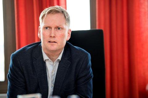Byrådsleder Harald Schjelderup sier møtet med sentralstyret var krevende, men godt.