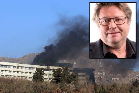 CMI-forskeren Arne Strand ble skadet i et angrep på et hotell i Kabul i helgen.