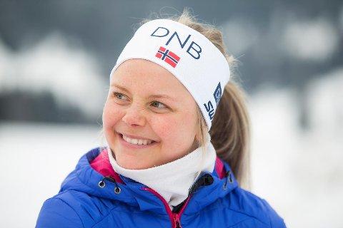 Hilde Fenne under kan smile bredt etter at hun ble OL-klar i det aller siste uttaket onsdag.