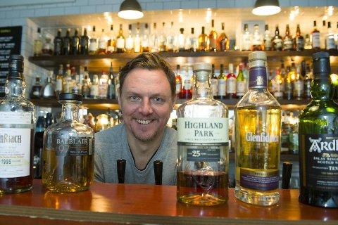 Frode Harring og gjengen på baren The Tasting Room arrangerer Bergen Whisky & Beer for fjerde gang. Festivalen går av stabelen neste helg, fra 1. til 4. februar på Terminus.
