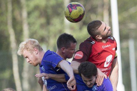 Azar Karadas spilte for Brann 2 mot Fyllingsdalen mandag. Her under cupkampen (1-0 til Brann) i vår.