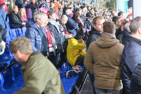 Vi var bare ca 50 Brann-supportere i Kristiansund.