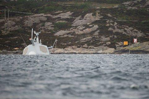 Amerikaneren er avhørt av norsk politi etter fregatthavariet.