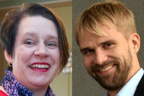 Både ordfører Marte Mjøs Persen og skolebyråd Roger Valhammer er sulten på byrådslederposten.