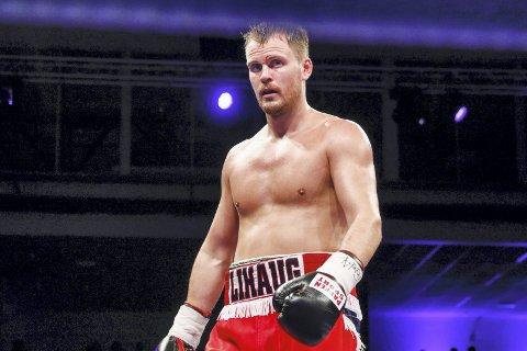 Tim-Robin Lihaug kan få kamp i Sotra Arena 23. mars. (Foto: NTB scanpix)
