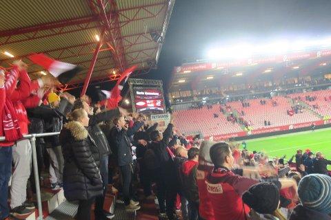 Det var en stund siden vi kunne feire på Stadion etter kampslutt.