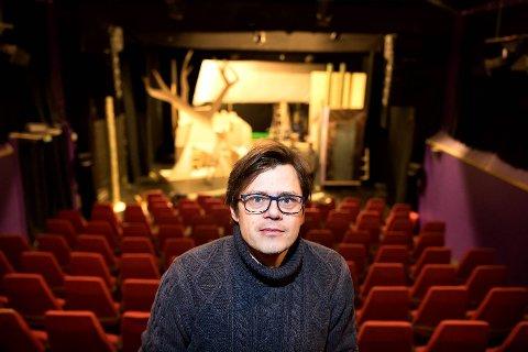Teatersjef Jørn Kvist ved Fyllingsdalen teater fortviler over den økonomiske situasjonen teateret befinner seg i.