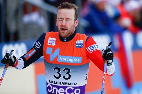 Sjur Røthe vant 15 kilometer fri teknikk i verdenscupen på Lillehammer