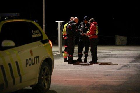 Store ressurser var involvert i leteaksjonen på Radøy.
