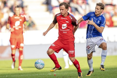 Kristoffer Zachariassen og Fredrik Haugen skal kjempe mot hverandre på fotballens festdag.