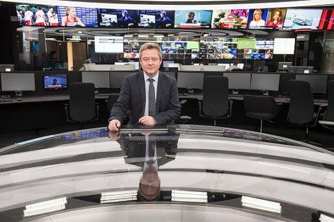 Morten Sandøy blir misbrukt i reklame for et produkt mot impotens. – Det er kjipt, men vanskelig å gjøre noe med, sier det erfarne nyhetsankeret.