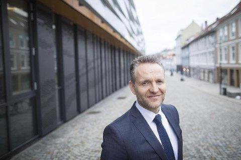 Konsernsjef i Sparebanken Vest, Jan Erik Kjerpeseth. FOTO: EMIL WEATHERHEAD BREISTEIN