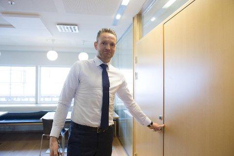 Jan Erik Kjerpeseth er konsernsjef i Sparebanken Vest. FOTO: MAGNE TURØY