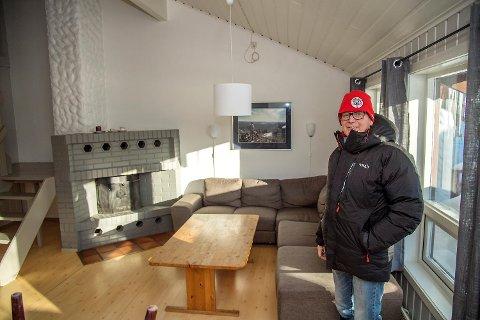 Svein Inge Øen, eier og daglig leder på Øen turistsenter, ønsker ikke at russen samles hos ham. Før jul fikk han avverget nettopp det.
