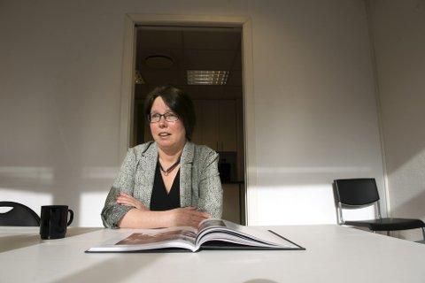 Monika Yndestad er spent, men har en god følelse rundt lanseringen av sin nyeste bok, «Graven». – Det er skumle tider for en forfatter når folk skal lese det du har skrevet. Arkivfoto: BA