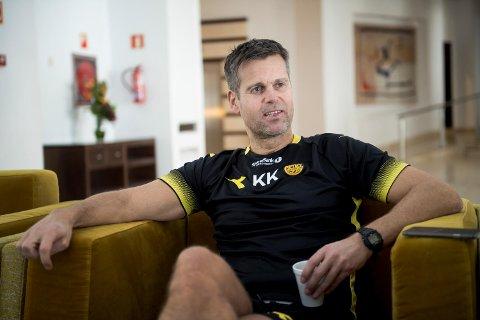 Brann treningsleir i Marbella  Trener i Bodø/Glimt Kjetil Knutsen