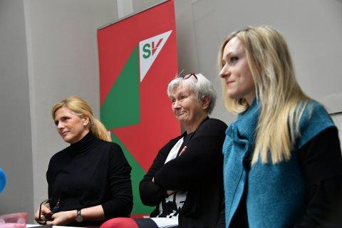 Fra venstre: Randi Amundsen, Oddny Miljeteig og Diane Berbain.