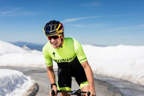 Høydetrening: Kristian Blummenfelt tilbringer påsken på 2300 m.o.h med resten av landslaget i triathlon.