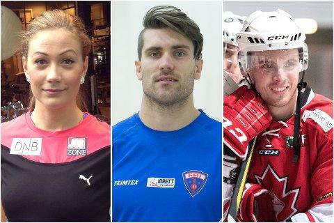 Isabelle Pedersen, Martin Roe og Eduard Hartmann (BIK) har alle hatt en god helg!