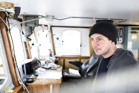 FENGSLET: Skipper Herman Reksten er til daglig styrmann i Bergen. Han har to ganger før deltatt i solidaritetsseilas og blitt tatt av Israel.