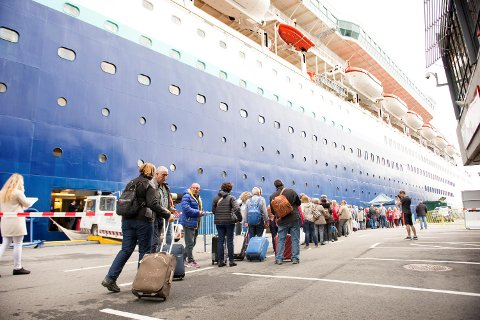 Bergen havn har på enkeltdager avvist cruiseskip som vil besøke Bergen.