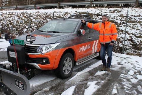 Trond Hjelmeland og Bergen bydrift er fleksible og beholder litt operativt utstyr selv etter at vintersesongen er over 15. april.