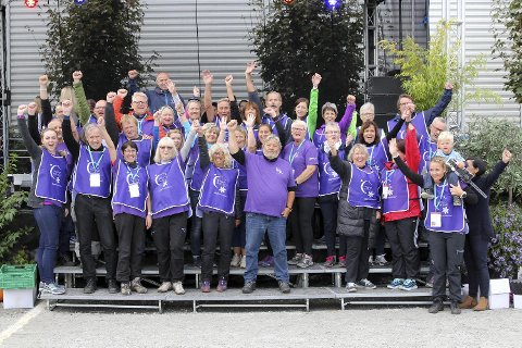 Randaberg var i fjor arrangør av den første «Stafett for livet» med over 1700                   deltakere fra hele Norge – med lag som gikk eller løp i 24 timer.