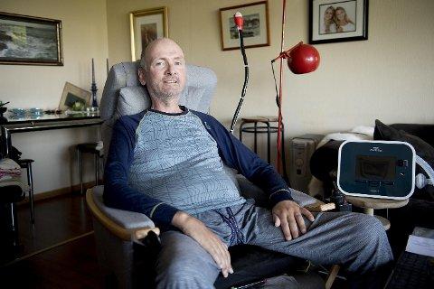 Frode Arnøy fikk i 2015 diagnosen ALS.  – Jeg har mange minner, fra sykling og andre turer. De kan jeg hente frem når jeg lukker øynene. Det er så mange gode opplevelser, sier 57-åringen fra Fana.