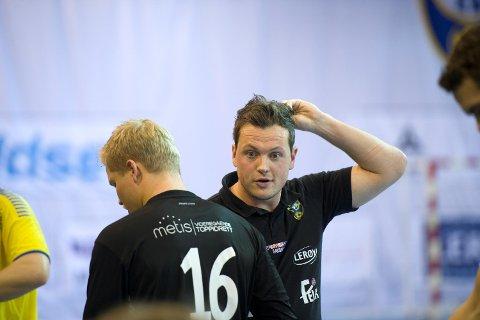 Fyllingen-trener Andreas Gjeitrem må til Arendal i seriestarten. (Arkivfoto: Magne Turøy)