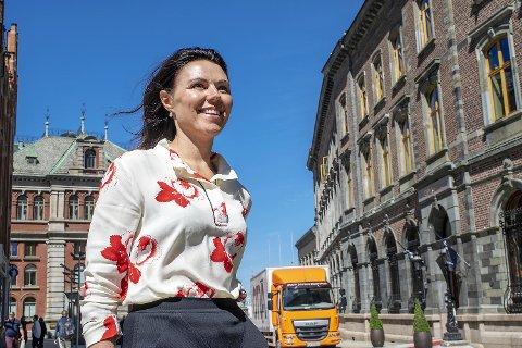 Nina Remøy Wiik  leder Nordeas intensiverte satsing mot bedriftsmarkedet på Vestlandet. FOTO: SVEIN TORE HAVRE