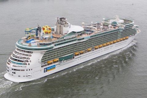 Det har aldri før vært et så stort cruiseskip i Bergen.