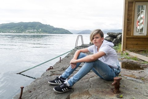 Simen var 12 år da han reddet i land venninen sin fra sjøen.