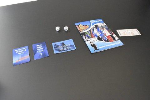 Nye kort: Spillet inneholder blant annet børs-kort og best- og verst-kort.