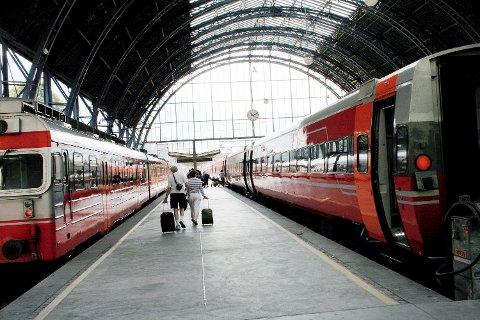 Jernbanedirektoratet la frem  handlingsplanEN for perioden fre til 2029 på onsdag. ARKIVFOTO. BA