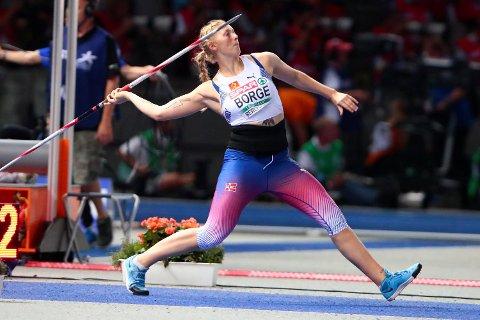 Sigrid Borge kom ikke opp mot pers, noe som var veldig synd, for det ville holdt til medalje i spyd i Berlin-EM.