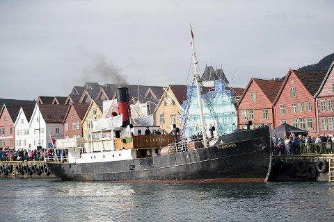 Eldst: DS «Stavenes» fikk status som verneverdig fartøy i 1992.